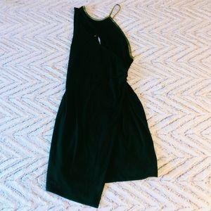 Black Free People Asymmetrical Dress